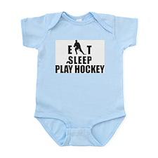 Eat Sleep Play Hockey Onesie