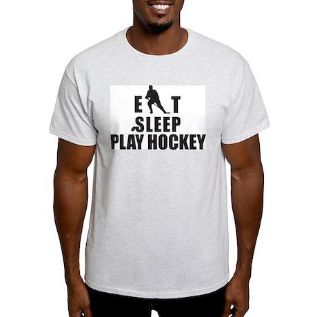 Eat Sleep Play Hockey Light T-Shirt