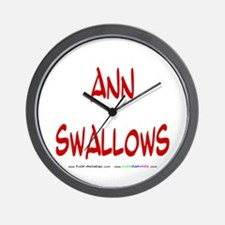 Ann Swallows Wall Clock