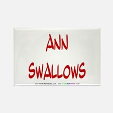 Ann Swallows Rectangle Magnet (10 pack)