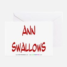 Ann Swallows Greeting Cards (Pk of 10)