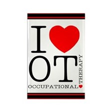I Heart OT - Rectangle Magnet