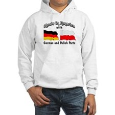 German & Polish Parts Hoodie