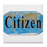 World Citizen Tile Coaster