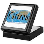 World Citizen Keepsake Box