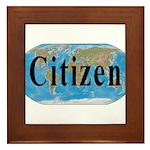 World Citizen Framed Tile
