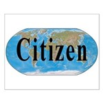 World Citizen Small Poster