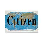 World Citizen Rectangle Magnet (100 pack)