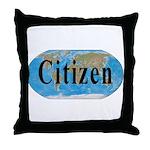World Citizen Throw Pillow