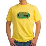 World Citizen Yellow T-Shirt
