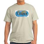 World Citizen Ash Grey T-Shirt