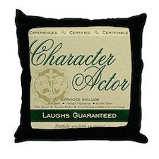 Character Actor Throw Pillow