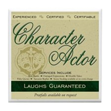 Character Actor Tile Coaster
