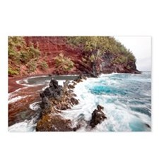 Red sand beach, Hawaii Postcards (Package of 8)