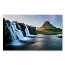 Kirkjufellsfoss waterfall Decal