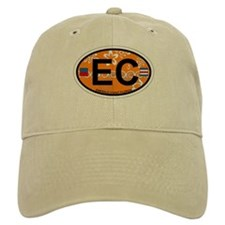 Emerald Coast - Oval Design. Baseball Cap