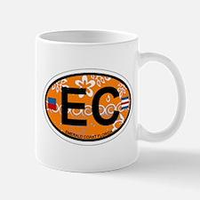Emerald Coast - Oval Design. Mug