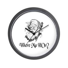WHERE MA HOs? Wall Clock