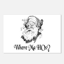 WHERE MA HOs? Postcards (Package of 8)