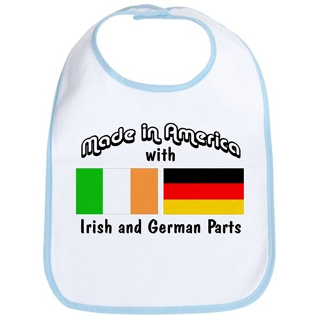 Irish & German Parts Bib