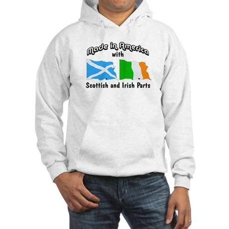 Scottish & Irish Parts Hooded Sweatshirt