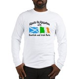 Scotland flag Long Sleeve T-shirts