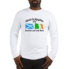 Scottish & Irish Parts Long Sleeve T-Shirt