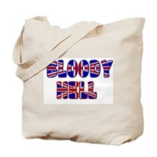 """Bloody Hell"" Tote Bag"