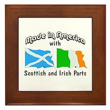 Scottish & Irish Parts Framed Tile