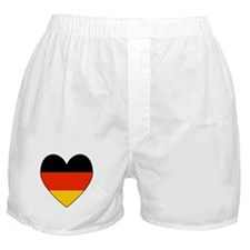 German Flag Heart Boxer Shorts