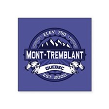 "Mont-Tremblant Midnight Square Sticker 3"" x 3"""