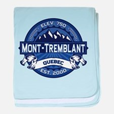 Mont-Tremblant Midnight baby blanket