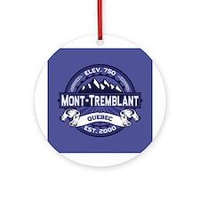 Mont-Tremblant Midnight Ornament (Round)