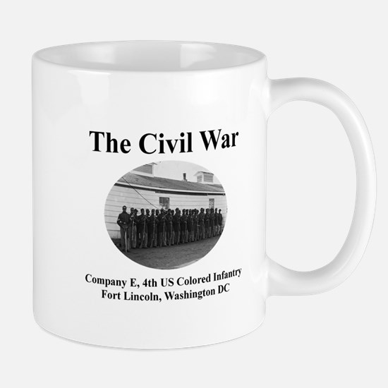 Fort Lincoln Civil War Infantry Mug