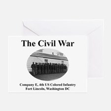 Ft Lincoln Civil War Infantry Greeting Cards Pack