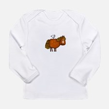 horsing around (no text) Long Sleeve T-Shirt