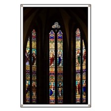 Gothic Stained Glass Windows in Spanish Chu Banner