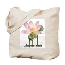 Sapere Aude - Dare To Know! Tote Bag