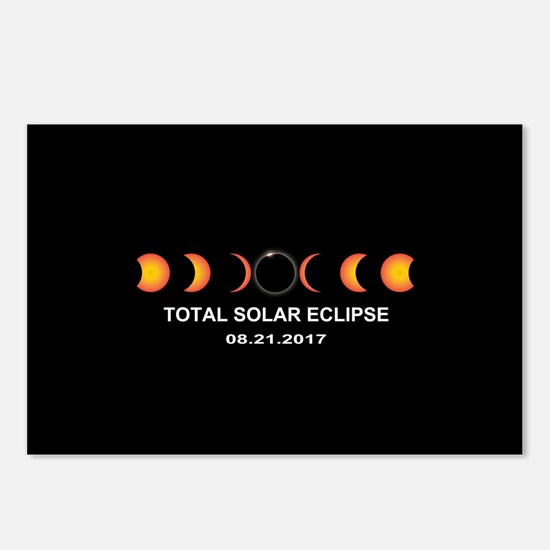 Total Solar Eclipse 2017 Postcards (Package of 8)