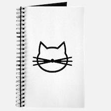 Cat head face Journal