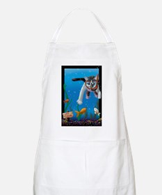 Naughty Kitten  BBQ Apron
