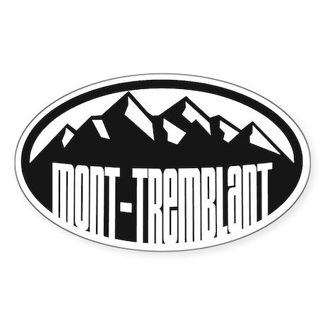 Mont-Tremblant Sticker (Oval)