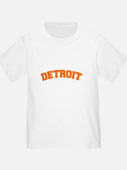 Detroit Orange T