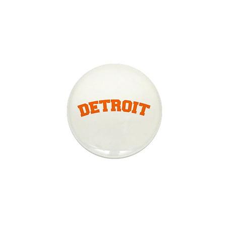 Detroit Orange Mini Button (10 pack)