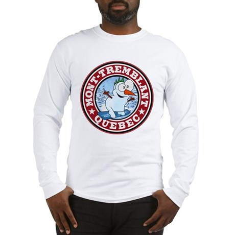 Mont-Tremblant Snowman Circle Long Sleeve T-Shirt
