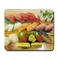 Different Types of Sushi Mousepad