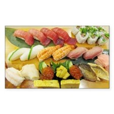 Different Types of Sushi Stickers