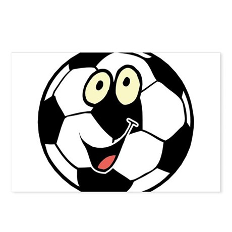 SOCCER BALL Postcards (Package of 8)