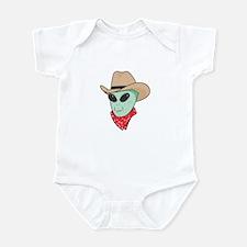 Cowboy Alien Onesie