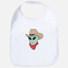 Cowboy Alien Bib